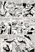 Original Comic Art, John Byrne and Pablo Marcos Avengers #166 Story Page 11 Original Art (Marvel, 1977). ...