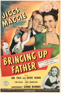 Bringing Up Father One Sheet Movie Poster (Monogram, 1946)