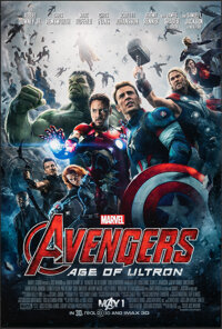 """The Avengers: Age of Ultron (Walt Disney Studios, 2015). Rolled, Very Fine+. One Sheet (27"""" X 40""""). Action..."""