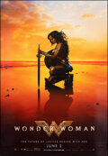 """Movie Posters:Action, Wonder Woman (Warner Bros., 2017). Rolled, Very Fine/Near Mint. Bus Shelter (48"""" X 70"""") Advance. Action.. ..."""