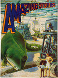 Pulps:Science Fiction, Amazing Stories - October 1929 (Ziff-Davis) Condition: VF....
