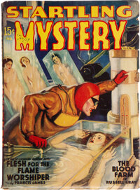 Startling Mystery Magazine - February 1940 (Fictioneers Inc.) Condition: VG/FN