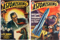 Pulps:Science Fiction, Astonishing Stories Yakima Pedigree Group of 2 (Fictioneers Inc., 1940-41) Condition: Average VF.... (Total: 2 Items)