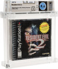 Video Games:Playstation, Resident Evil 2 - Wata 9.6 A Sealed [Pixel ESRB, w/ Movie Offer], PS1 Capcom 1998 USA....