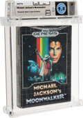 Video Games:Sega, Michael Jackson's Moonwalker - Wata 9.8 A++ Sealed, GEN Sega 1990 USA....