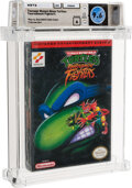 Video Games:Nintendo, Teenage Mutant Ninja Turtles: Tournament Fighters - Wata 9.6 A Sealed, NES Konami 1994 USA....