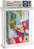 Video Games:Nintendo, Super Mario 64 - Wata 9.4 A+ Sealed, N64 Nintendo 1996 USA....