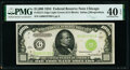Small Size:Federal Reserve Notes, Fr. 2211-G $1,000 1934 Light Green Seal Federal Reserve Note. PMG Extremely Fine 40 EPQ.. ...