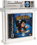 Video Games:Playstation, Harry Potter and the Sorceror's Stone - Wata 9.8 A Sealed [Sony Security Label], PS1 EA 2001 USA. ...