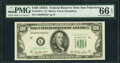 Small Size:Federal Reserve Notes, Fr. 2158-L* $100 1950A Federal Reserve Note. PMG Gem Uncirculated 66 EPQ.. ...