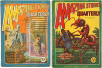 Amazing Stories Quarterly Group of 2 (Ziff-Davis, 1928).... (Total: 2 Items)