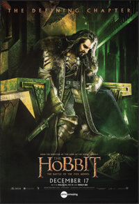 """The Hobbit: The Battle of the Five Armies (Warner Bros., 2014). Rolled, Very Fine+. One Sheet (27"""" X 39.5"""") SS..."""