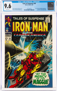Tales of Suspense #99 (Marvel, 1968) CGC NM+ 9.6 White pages
