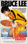 "Movie Posters:Action, Game of Death (Golden Harvest, R-1980s). Rolled, Very Fine. Hong Kong One Sheet (25.75"" X 39.75""). Action.. ..."