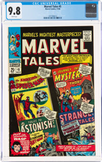 Marvel Tales #5 (Marvel, 1966) CGC NM/MT 9.8 White pages
