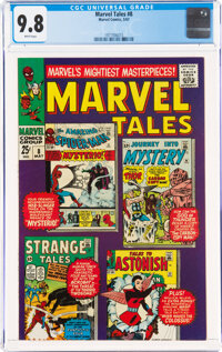 Marvel Tales #8 (Marvel, 1967) CGC NM/MT 9.8 White pages
