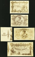 Spain Banco de Espana 50 Pesetas ND (ca. 1902) Photo Proofs Pick Unlisted