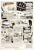 Original Comic Art, Curt Swan and Murphy Anderson Action Comics #417 Story Page 1 Original Art (DC, 1972)....