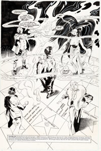 Gene Colan and Steve Mitchell Silverblade #11 Splash Page 1 Original Art (DC, 1988)
