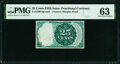 25¢ Fifth Issue Proof PMG Choice Uncirculated 63