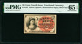 Fractional Currency:Fourth Issue, Fr. 1257 10¢ Fourth Issue PMG Gem Uncirculated 65 EPQ.. ...