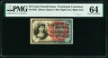 Fractional Currency:Fourth Issue, Fr. 1259 10¢ Fourth Issue PMG Choice Uncirculated 64.. ...