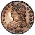 Bust Half Dollars: , 1831 50C AU58 PCGS. PCGS Population: (302/525 and 6/15+). NGC Census: (300/421 and 1/6+). CDN: $500 Whsle. Bid for NGC/PCGS...