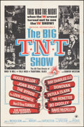 """Movie Posters:Rock and Roll, The Big T.N.T. Show (American International, 1966). Folded, Fine/Very Fine. One Sheet (27"""" X 41""""). Rock and Roll.. ..."""