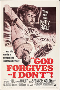 "God Forgives, I Don't (American International, 1969). Folded, Fine/Very Fine. One Sheet (27"" X 41""). Western..."