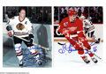 Hockey Collectibles:Photos, Hockey Autograph 2 CT. SERGEI FEDEROV - BOBBY HULL SIGNED ...