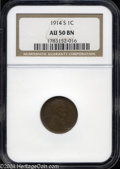 Lincoln Cents: , 1914-S AU50 Brown NGC. The current Coin Dealer ...