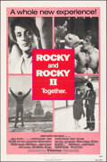 "Movie Posters:Sports, Rocky/Rocky II Combo & Other Lot (United Artists, R-1980). Folded, Overall: Very Fine-. One Sheets (2) (27"" X 41""). Sports.... (Total: 2 Items)"