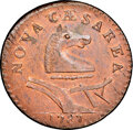 Colonials, 1787 New Jersey Copper, No Plow Sprig, M. 48-g, W-5275, R.1, MS65 Red and Brown NGC....