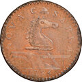 1786 New Jersey Copper, Straight Plow Beam, M. 16-J, W-4835, Low R.6, MS63 Red and Brown NGC....(PCGS# 766284)