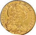 Colonials, (1783-1795) Ephraim Brasher Counterstamp on a 1755 Portugal Peca MS61 NGC....