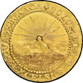 Colonials, 1787 DBLN New York-Style Brasher Doubloon, EB on Wing, MS65★ NGC. CAC. W-5840....