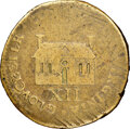 Colonials, 1714 Gloucester Courthouse Shilling, VF25 NGC. Breen-237, W-8180, R.8. ...