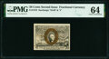 Fractional Currency:Second Issue, Fr. 1318 50¢ Second Issue PMG Choice Uncirculated 64.. ...