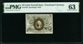 Fractional Currency:Second Issue, Fr. 1248 10¢ Second Issue PMG Choice Uncirculated 63.. ...