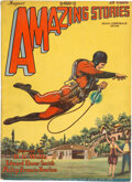 Pulps:Science Fiction, Amazing Stories - August 1928 (Ziff-Davis) Condition: VG/FN....