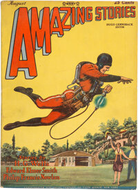 Amazing Stories - August 1928 (Ziff-Davis) Condition: VG/FN