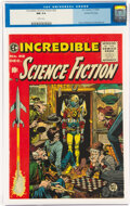 Incredible Science Fiction #32 Gaines File Pedigree (EC, 1955) CGC NM 9.4 White pages