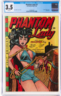Golden Age (1938-1955):Superhero, Phantom Lady #17 (Fox Features Syndicate, 1948) CGC VG- 3.5 Pink pages....