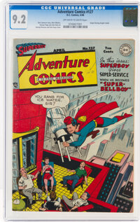 Adventure Comics #127 (DC, 1948) CGC NM- 9.2 Off-white to white pages