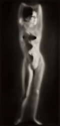 Photographs, Ruth Bernhard (American, 1905-2006). Luminous Body, 1962. Gelatin silver, printed later. 13-3/8 x 6-3/8 inches (34.0 x 1...