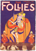 Pulps:Miscellaneous, The Follies - February 1922 (Les Boulevards Publishing) Condition: VG+....