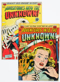 Golden Age (1938-1955):Horror, Adventures Into The Unknown #22 and 29 Group (ACG, 1951-52).... (Total: 2 Comic Books)