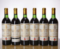Red Bordeaux, Chateau Pichon Lalande 1982 . Pauillac . 3ts, 2vhs. Bottle (6). ... (Total: 6 Btls. )