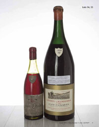 Gevrey Chambertin 1959 Clos St. Jacques, A. Rousseau 9.5cm, crc, ssos, excellent color, purchased at La Paulee NY in 201...