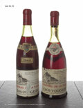 Red Burgundy, Clos Vougeot 1945 . Chateau de la Tour . 4cm, scl, excellent color and condition. Bottle (1). ... (Total: 1 Btl. )